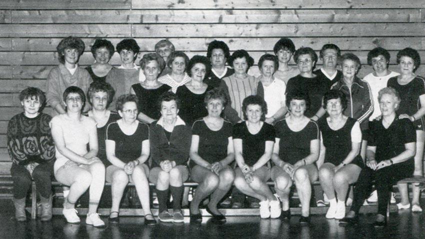 Erweiterung des sportlichen Angebotes durch eine Damen-Gymnastik Abteilung.