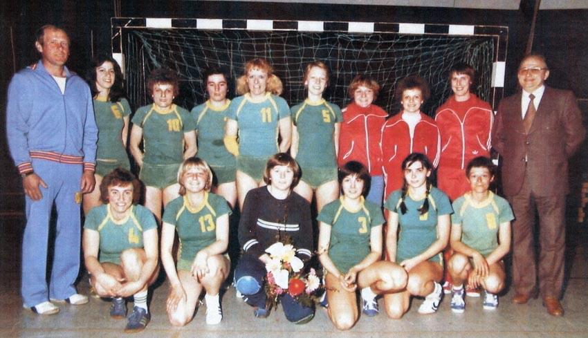 Die II. Damen-Handballmannschaft wird Meister der B-Klasse in der Saison 1990/91 und steigt in die A-Klasse auf.
