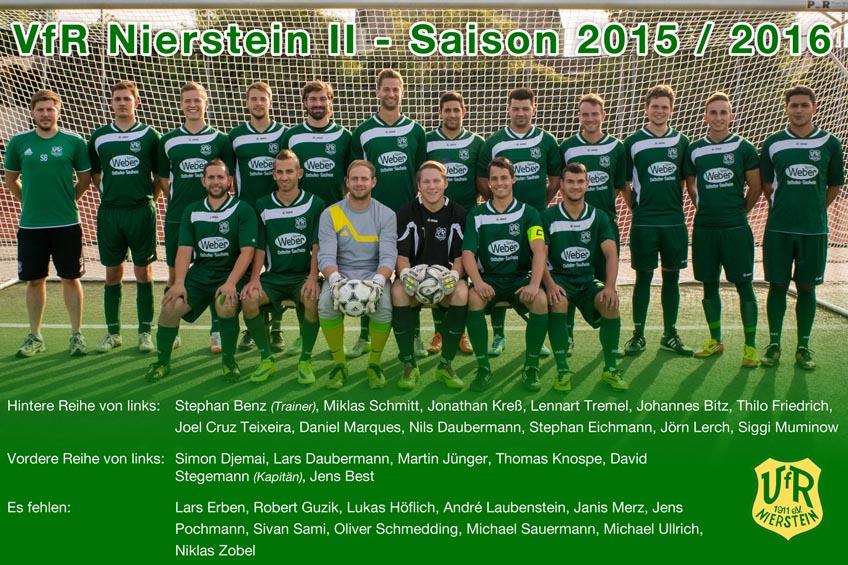 VfR Nierstein II feier den Aufstieg in die Kreisliga Mainz Bingen Ost 2016!