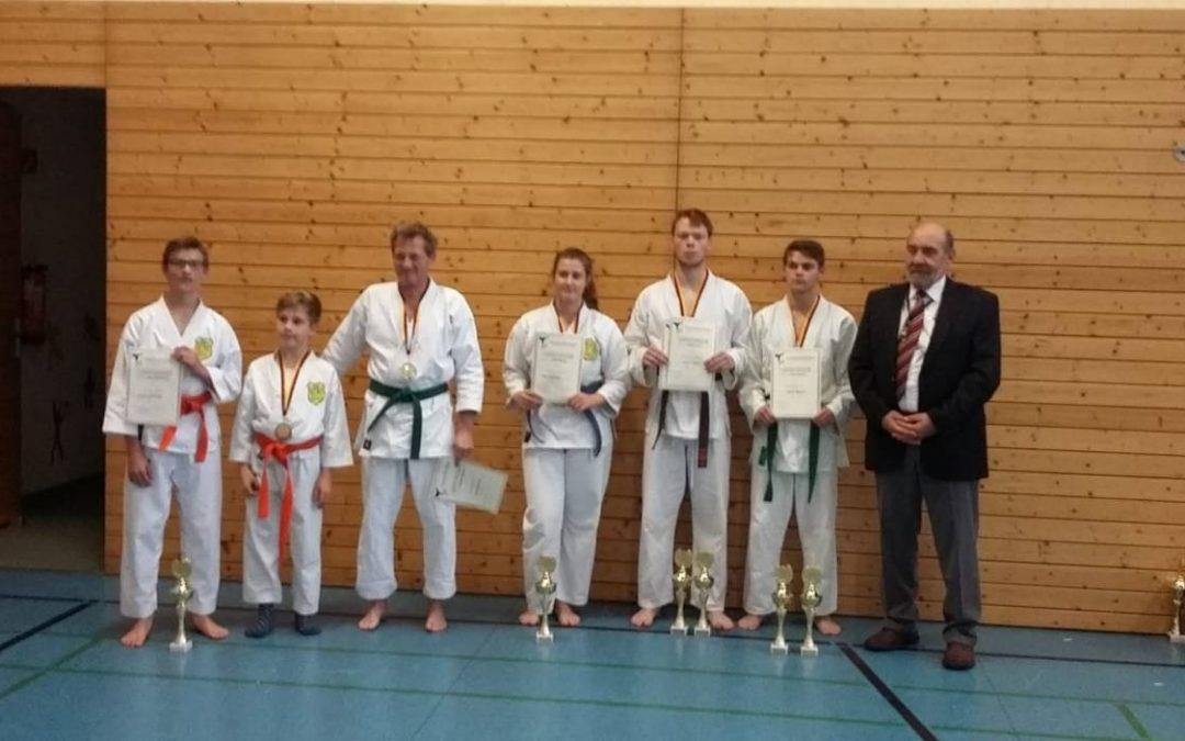 Karatekas erfolgreich