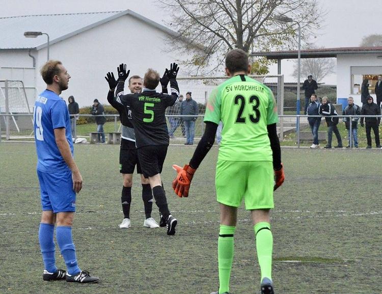 SV Horchheim – VfR Nierstein I 2:2 (0:2)