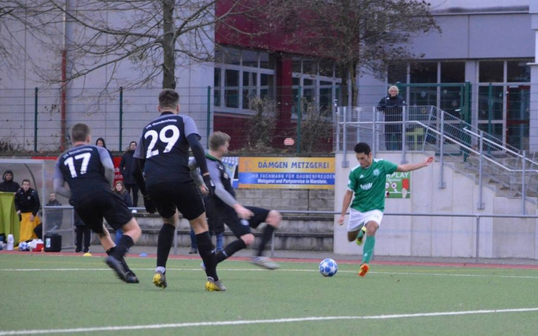 VfR Nierstein I – VfL Gundersheim 3:2 (2:1)