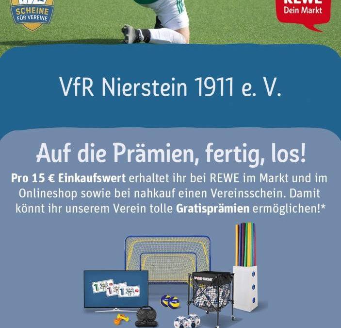 Scheine für Vereine – VfR Nierstein ist dabei!
