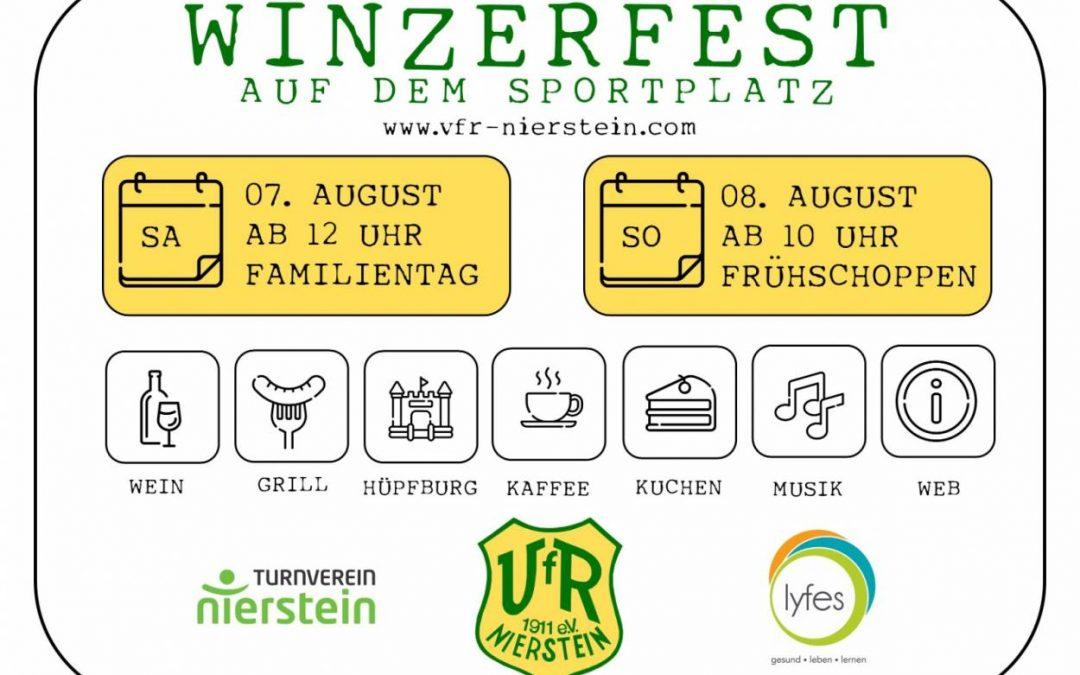 Winzerfest beim VfR & TV Nierstein